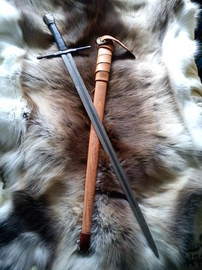Epée type XII A, acier ressort VENDU