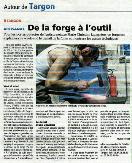 Article forge wam